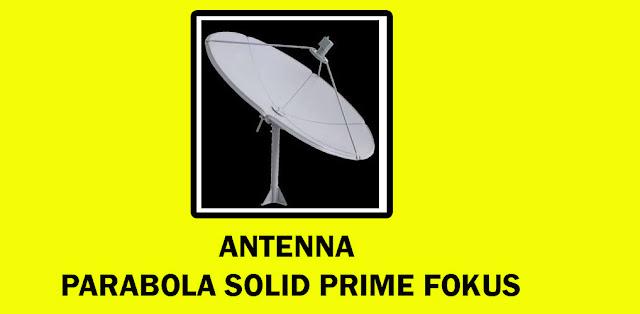 Antenna Parabola Solid Prime Fokus
