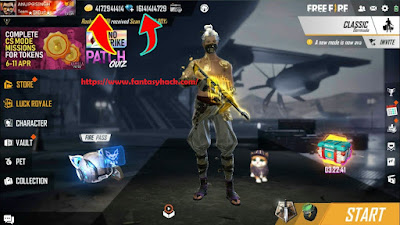 Download Free Garena Free Fire: Wonderland Game Hack Unlimited Health, Diamonds,Coins, Unlock all weapon 100% working and Tested for IOS and Android