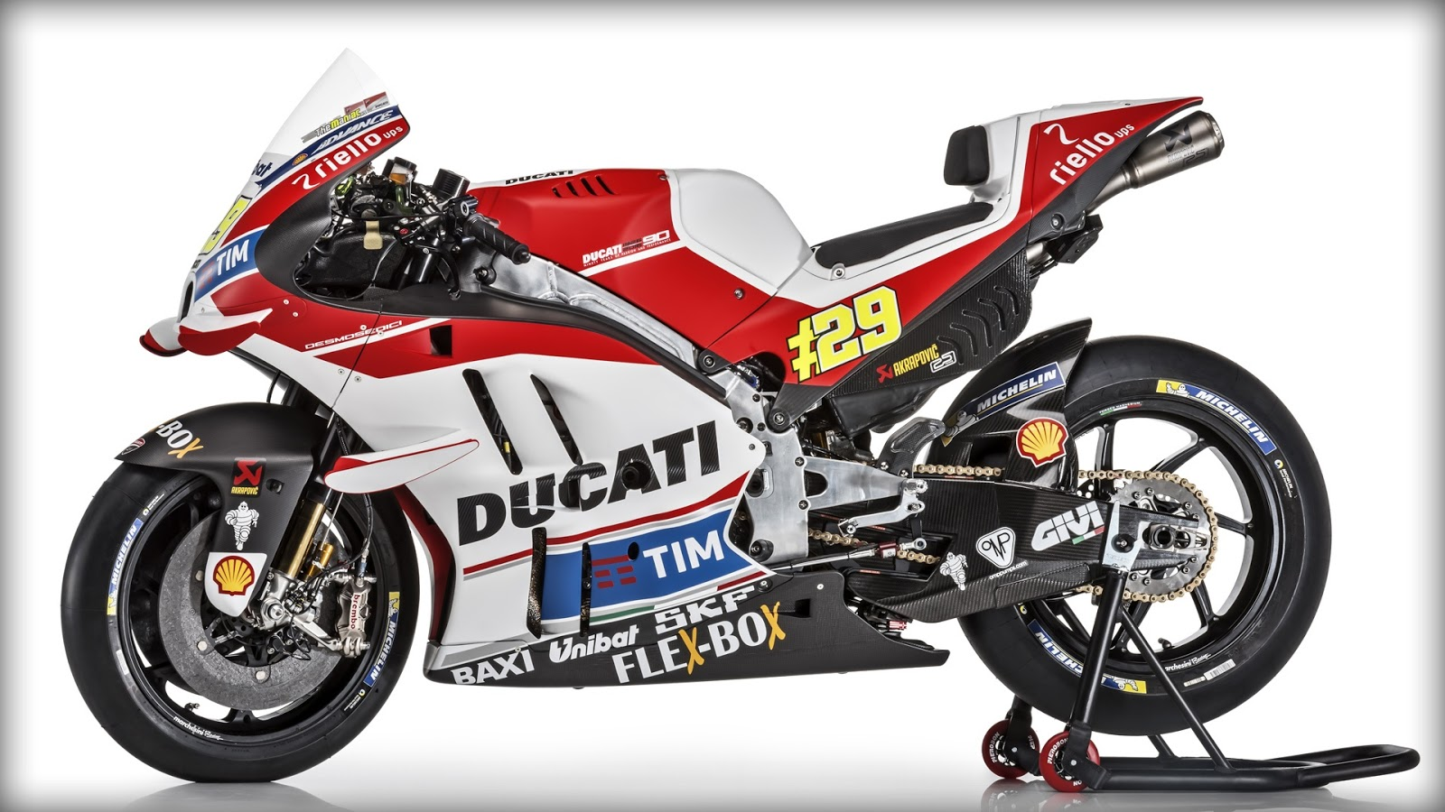 2016 Ducati Desmosedici MotoGP Wallpaper - KFZoom