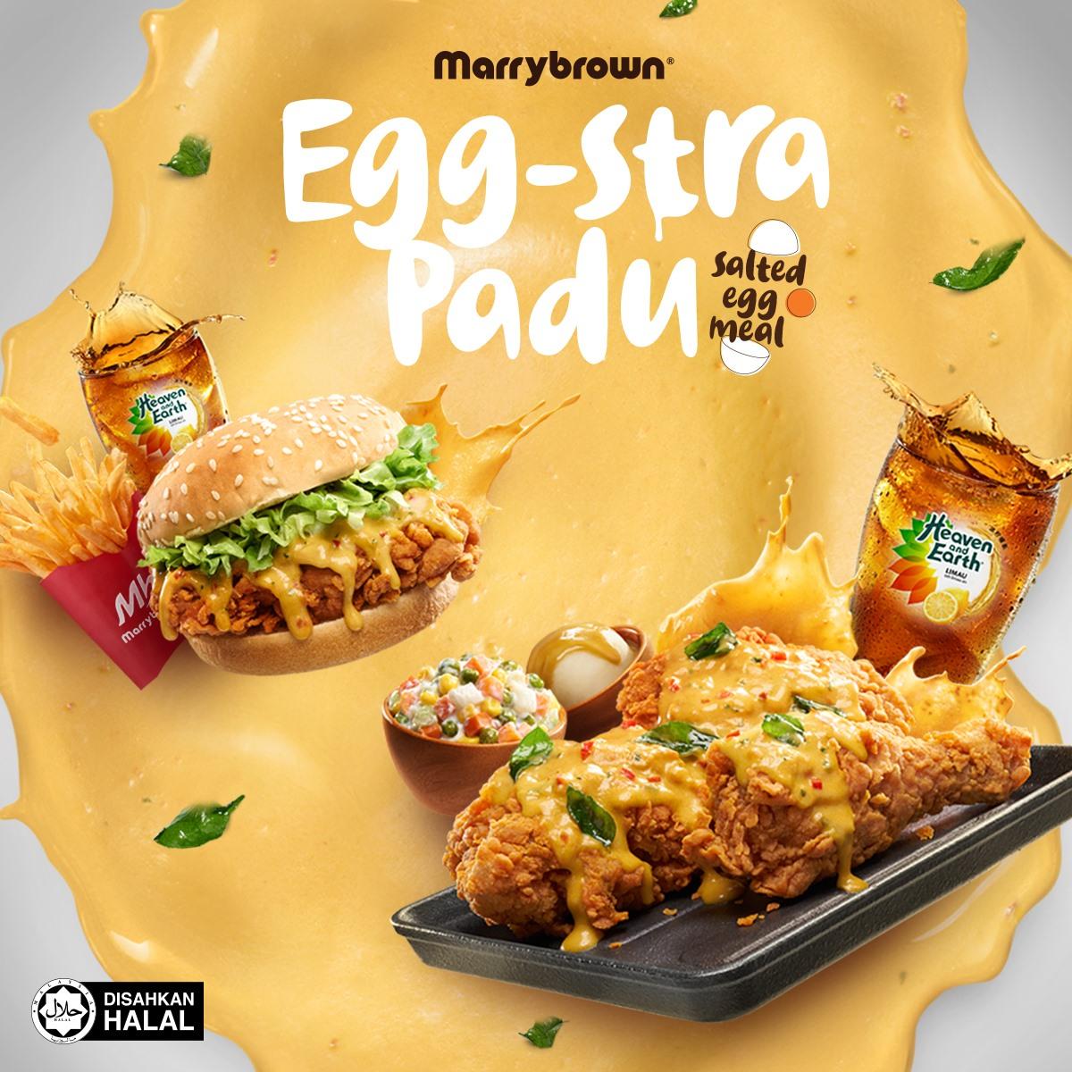 Marrybrown Egg-stra Padu - Hidangan Telur Masin Yang Istimewa
