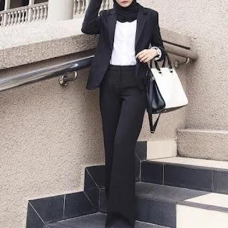pakaian formal interview kerja untuk wanita