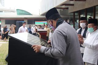Gubernur Anies Resmikan Masjid Amir Hamzah Di TIM