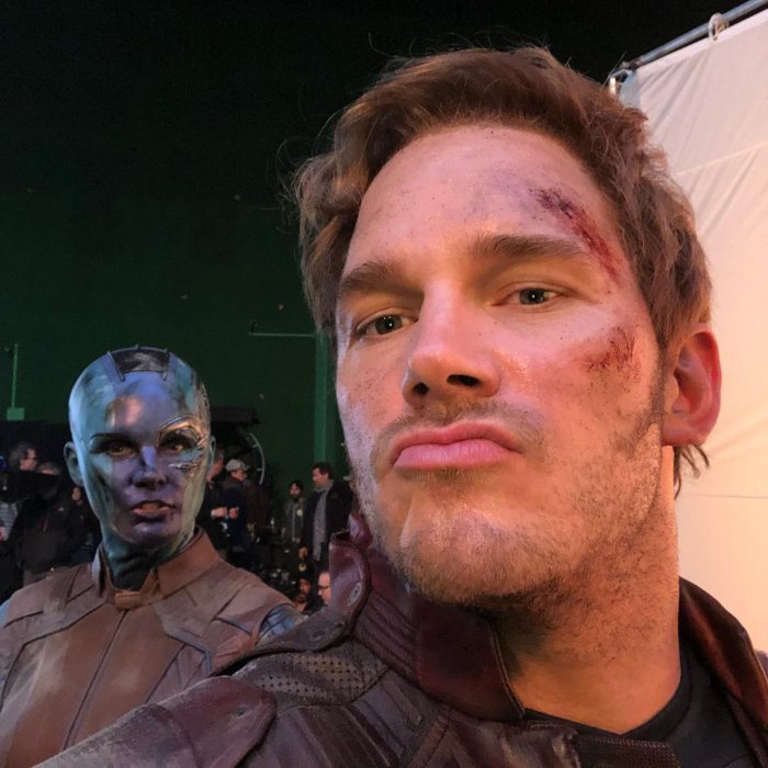 "Chris Pratt Via Instagram : Can't believe how well ""Avengers"" is doing"
