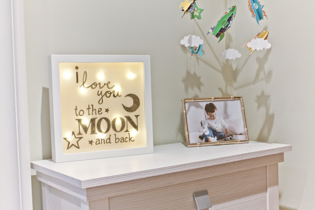 lightbox i love you to the moon and back