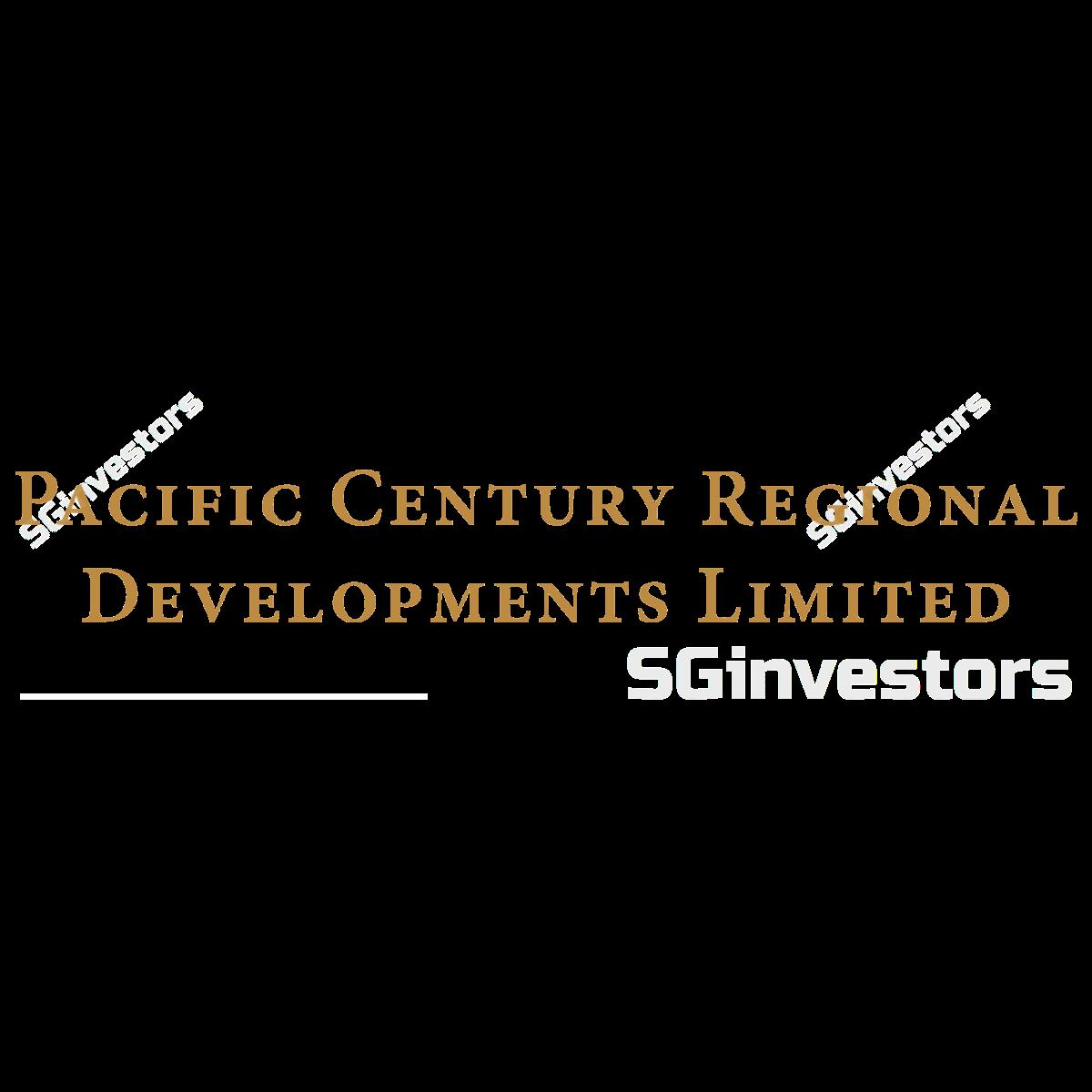 PACIFIC CENTURY REGIONAL DEVTS (SGX:P15) @ SGinvestors.io