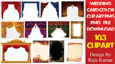 Color Indian Wedding Clipart | Hindu Wedding Symbols Clip Art Free Download Colour