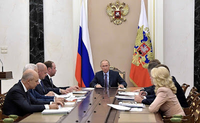 Vladimir Putin, Presidential Executive Office officials, Russian Government economic officials.