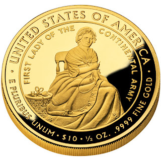 United States Gold Coins Martha Washington First Spouse 10 Dollars