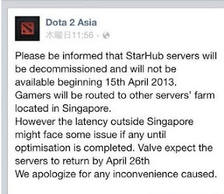 Problems with Dota2 Southeast Asia server