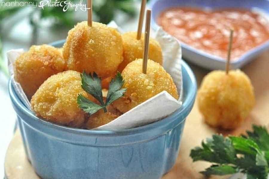 Resem Makanan Pom-pom Potato