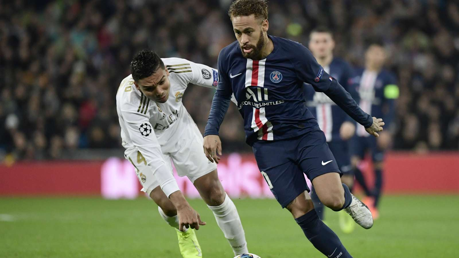 Real Madrid overdo an easy victory over PSG