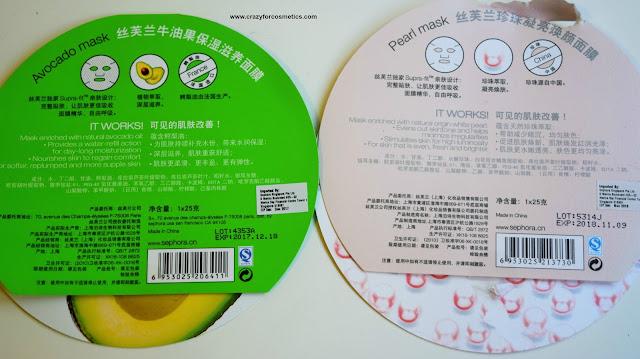 Avocado & Pearl Mask Review