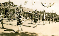 Nimitz Day parade, Kerrville, October 13, 1945