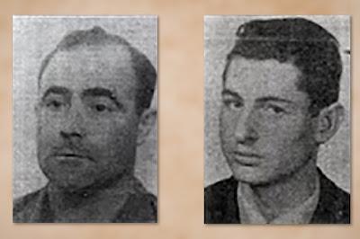 José Félix Rodríguez Montero y su amigo Juan Turú Vallés que se quitaron la vida en la vía del tren