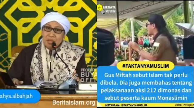 Buya Yahya vs Gus Miftah