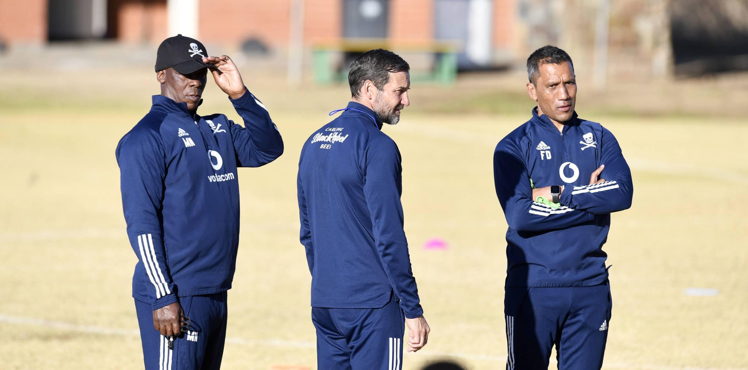 Orlando Pirates coaching staff