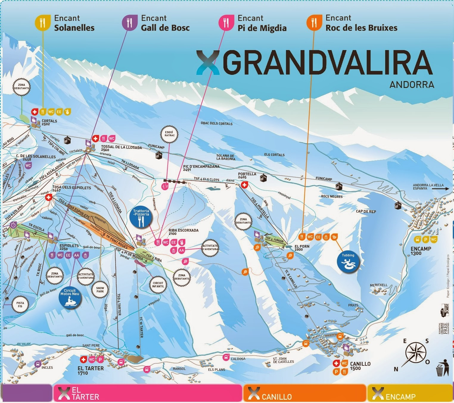 World Ski Resort El Tarter Canillo Encamp