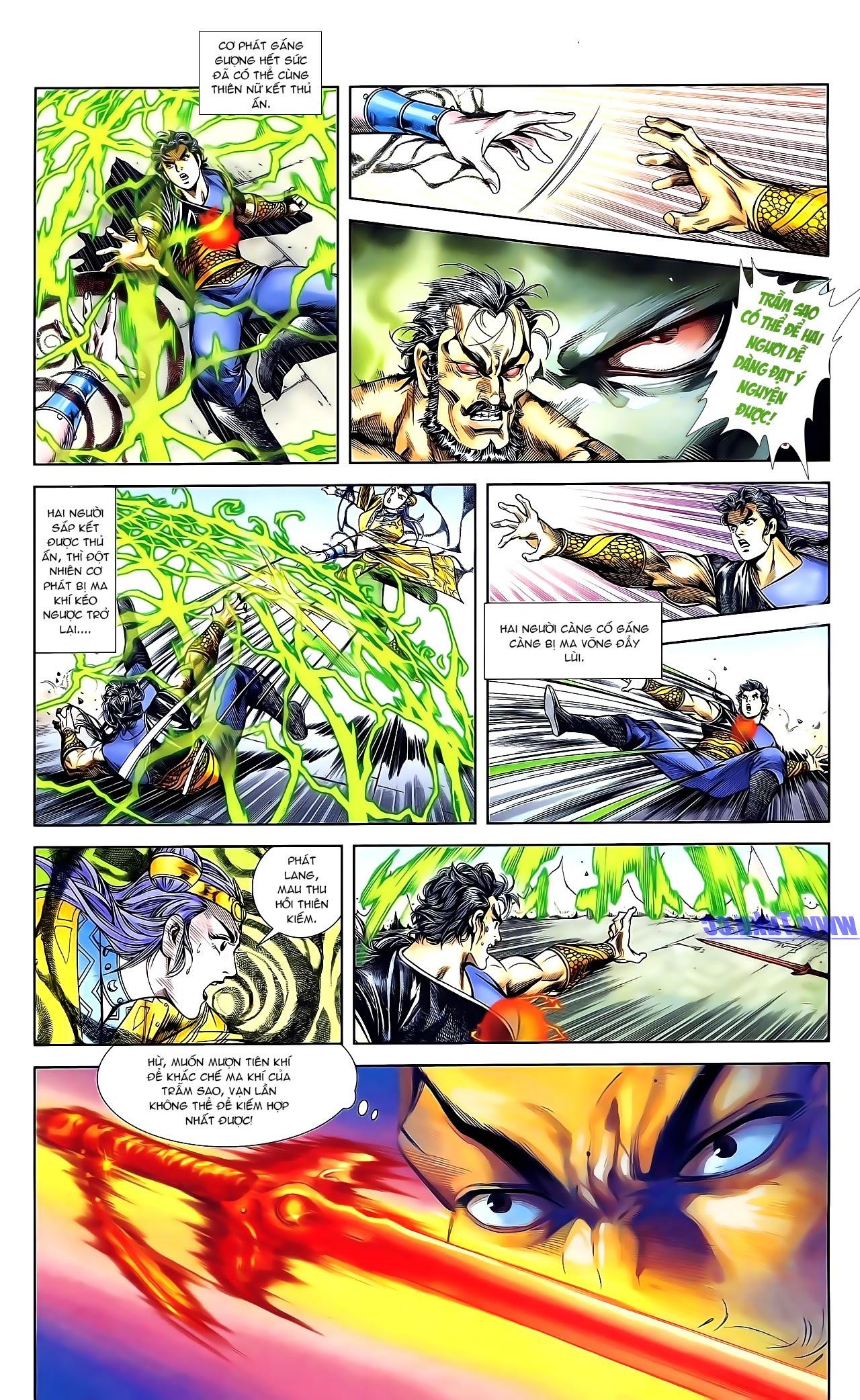 Cơ Phát Khai Chu Bản chapter 161 trang 16