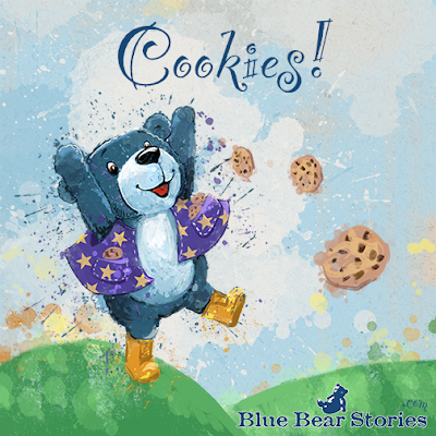 Itsy Bitsy Teddy Bear Willie's Adventure Cookies