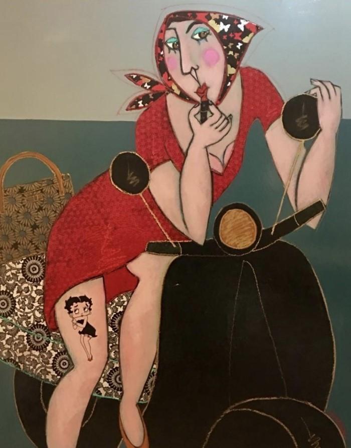 Французский художник. Patricia Simsa