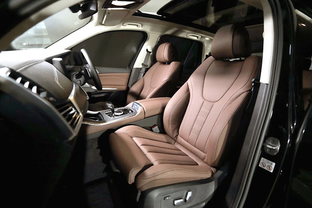 bmw x5 2021 front seat