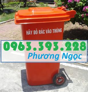 Thùng rác nhựa 240 lít nắp kín,thùng rác 2 bánh xe nhựa HDPE,thùng rác nhựa 240L TR240L2