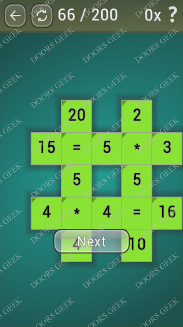 Math Games [Beginner] Level 66 answers, cheats, solution, walkthrough for android