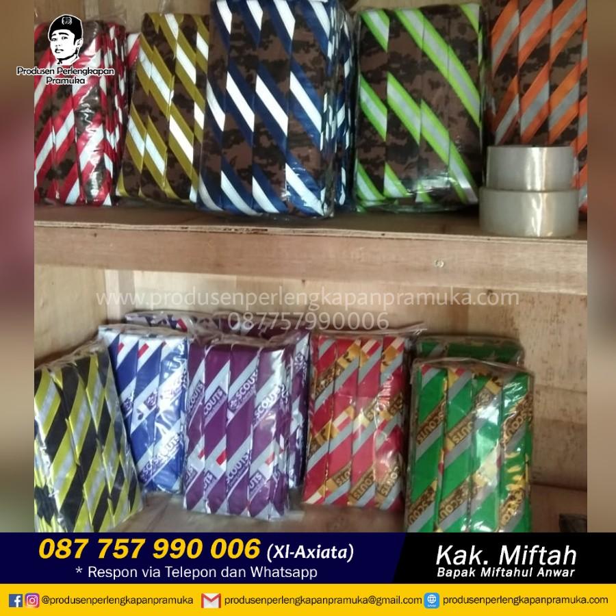 Jual Scarf Pramuka Kalimantan Selatan | Grosir Scarf Pramuka Kalimantan Selatan | Produsen Scarf Pramuka Kalimantan Selatan
