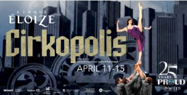 Cirque Eloize Cirkopolis at Foxwoods Resort Casino