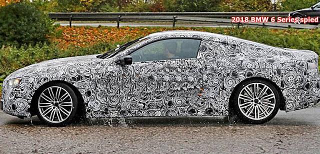 2018 BMW 6 Series spied