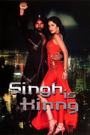 Showing Singh is kinng Movie Poster