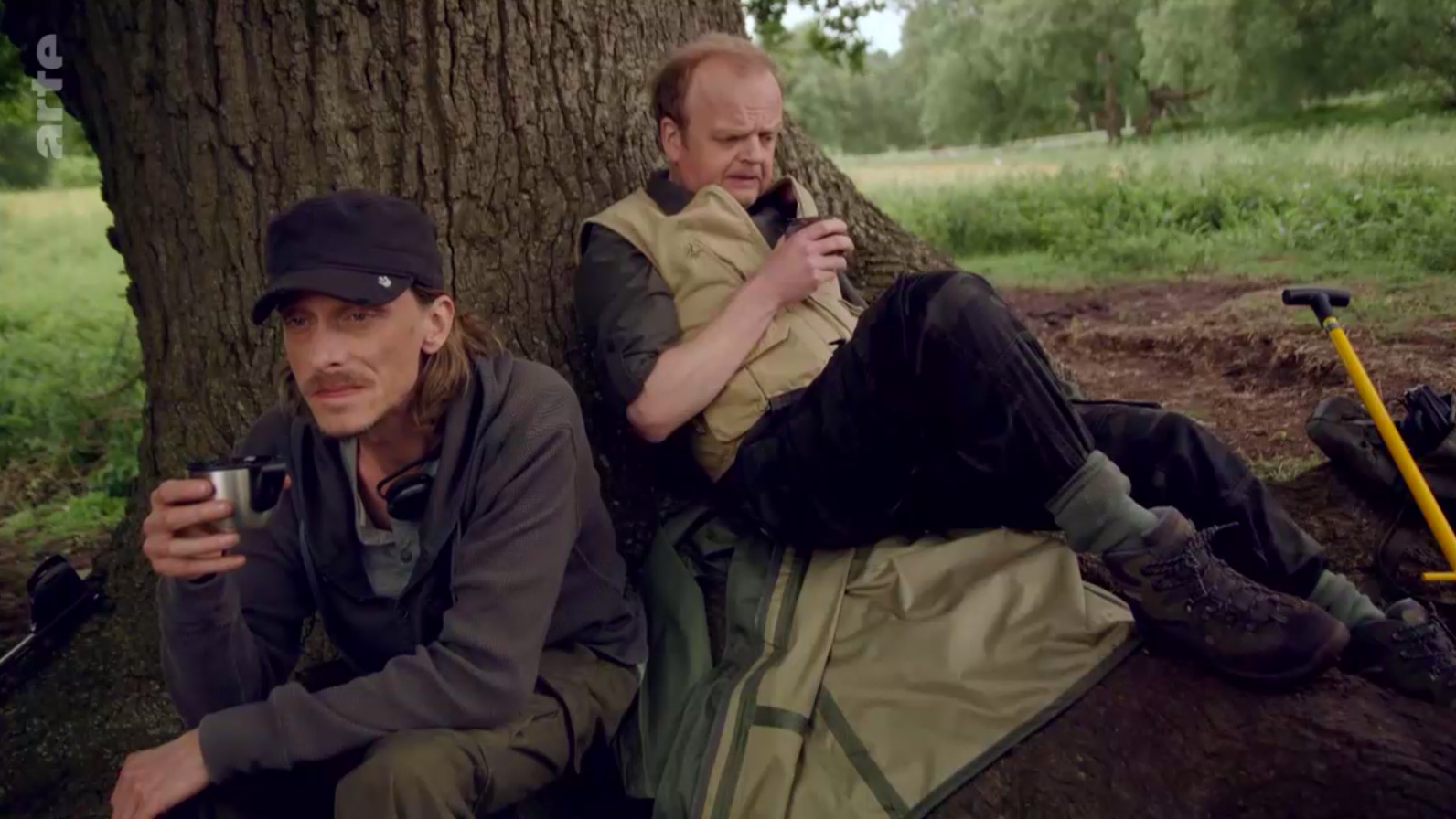 screenshot from Detectorists