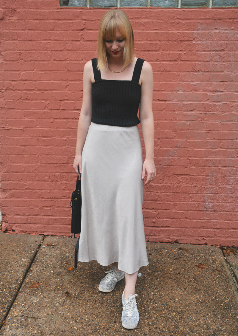 Silk Midi Skirts | Organized Mess