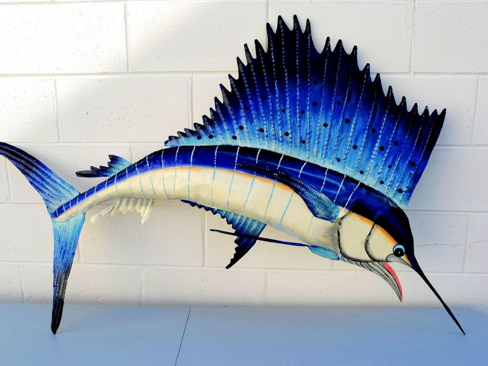 fish decor for walls