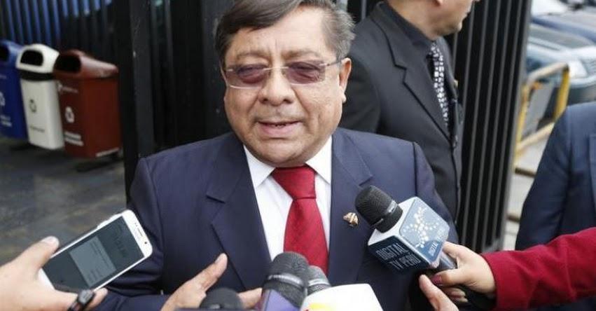 Presidente del CNM, Orlando Velásquez propuso «examen facilito» a sus trabajadores para pasarse a la Sunedu [VIDEO]