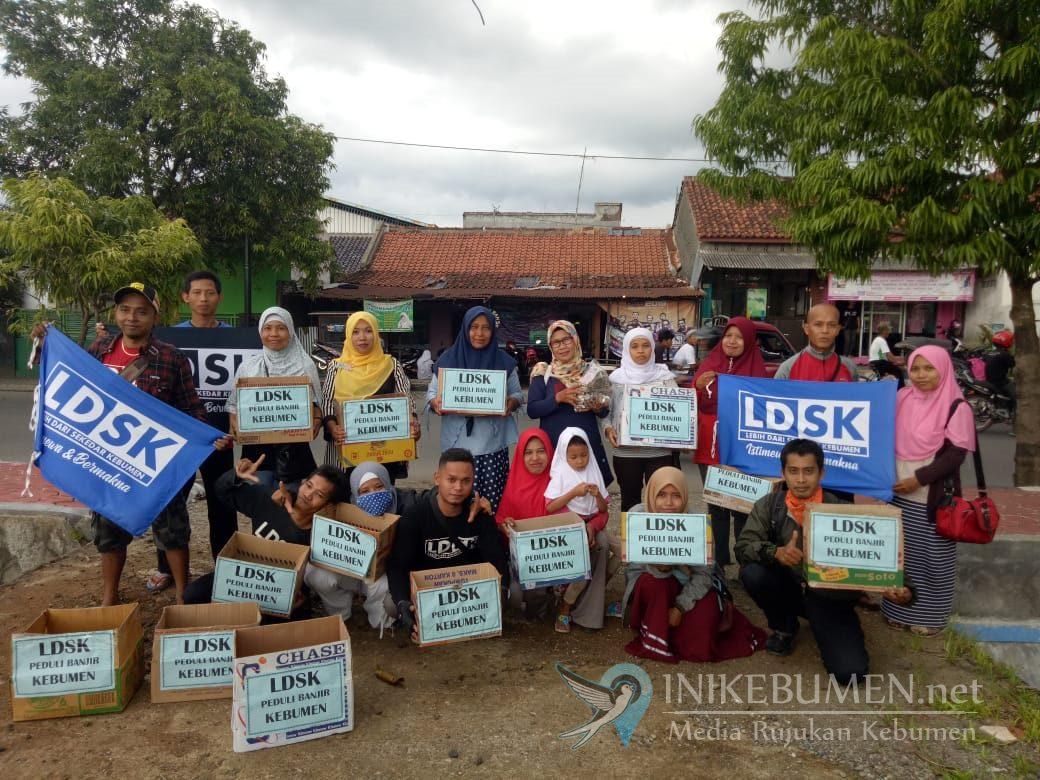 Relawan LDSK Galang Dana Peduli Banjir Kebumen