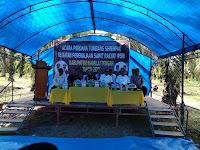 Mamuju Tengah Gelar Tumbang Perdana Kelapa Sawit Program Peremajaan Kelapa Sawit.