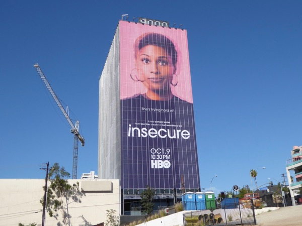 Insecure TV billboard