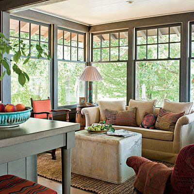 The keeping room preppy empty nester f for Southern living keeping room ideas