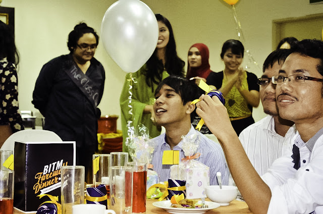 suffian hadi, hafidz idzry, sahabat najwa latif lirik, minggu suaikenal, tema party, prom party, halloween, costume party, friendship, nordin yassin, mya amira, final dinner, traditional cuisine