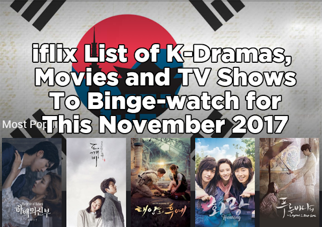 iflix List of Korean Drama, Movies and TV Shows to Binge