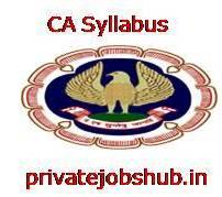 CA Syllabus