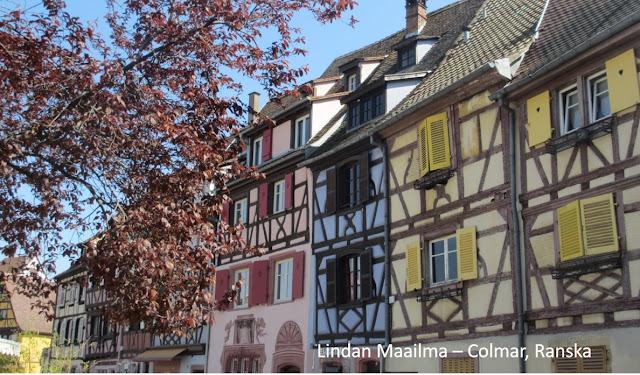 Colmar Ranska Route des vins d`Alsace