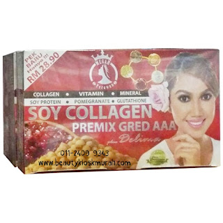 Soy Collagen Premix Megah Perawan