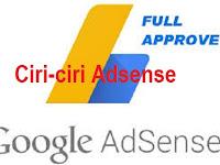 Ciri-ciri Adsense Diterima Sepenuhnya ( Full Approve )