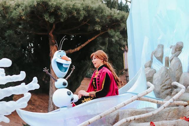 Disneyland paris avec une enfant de 3 ans