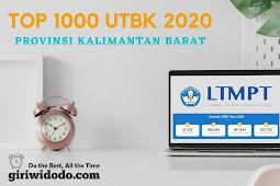 Top 1000 sekolah terbaik UTBK 2020 Kalimantan Barat