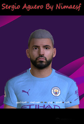 PES 2017 S. Aguero By Nimaesf