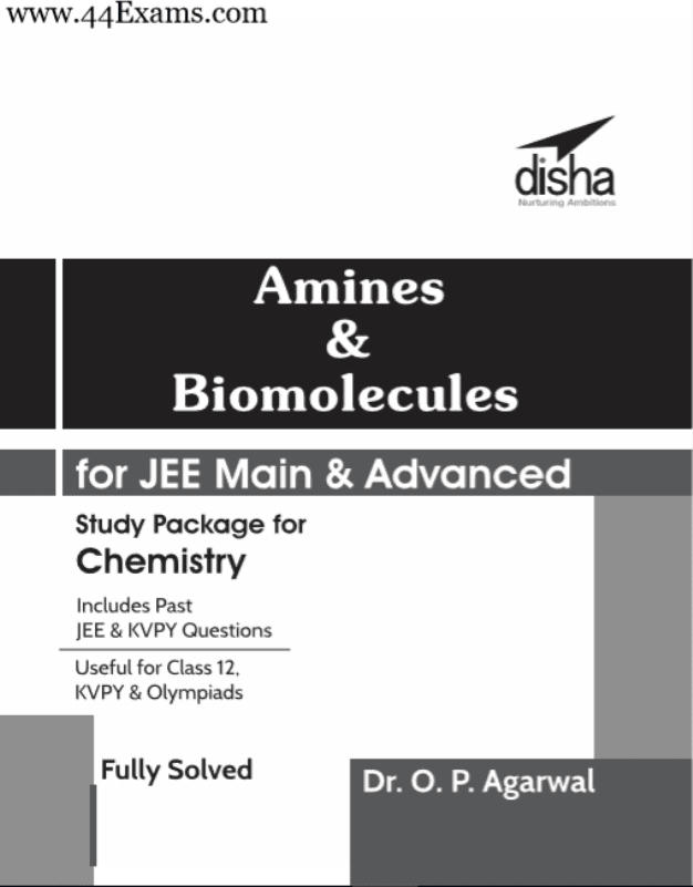 Amines-and-Biomolecules-by-Disha-Publication-For-JEE-Main-and-Advanced-Exam-PDF-Book