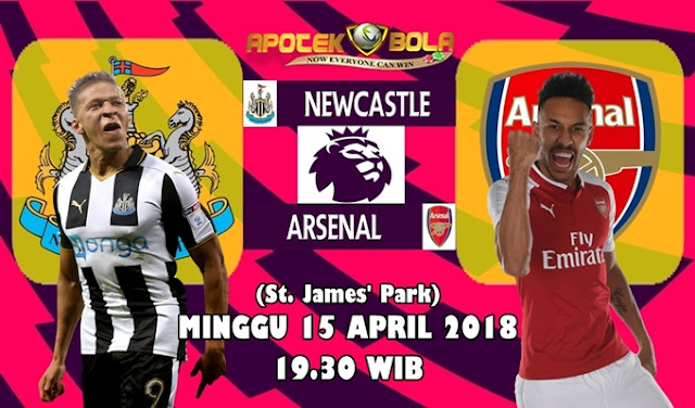Prediksi Newcastle United vs Arsenal 15 April 2018